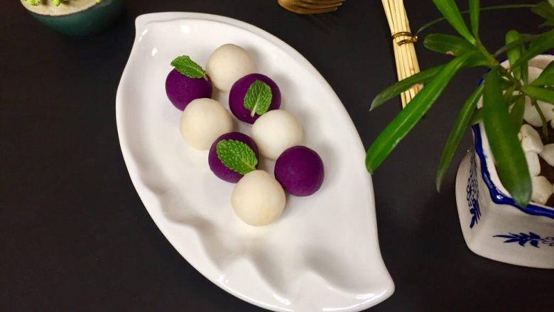 紫薯苹果球&山药🍎球