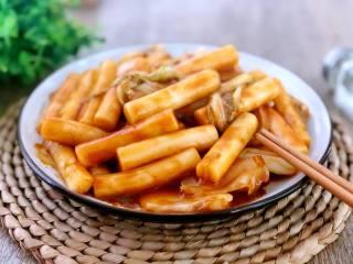 人气小吃自己做,来自韩剧的风味——韩式炒年糕