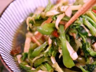 """春天的""""野菜"""",比肉还好吃!,开饭啦~"""