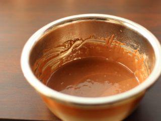 草莓裸蛋糕,Z字法拌匀,使其细腻顺滑,这一步可以过筛一遍