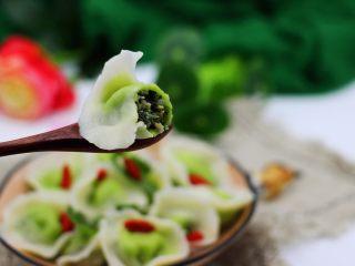 翡翠南极磷虾荠菜馄饨【宝宝辅食】,诱惑到你木有