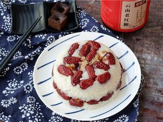 红糖甑糕,趁热吃哦,香甜软糯,最美味了