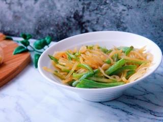土豆丝炒豆角丝