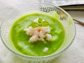 磷虾肉豌豆泥#宝宝辅食#