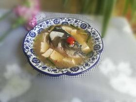 最益智补脑的鱼头豆腐汤