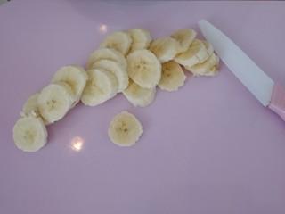 芒果香蕉奶昔,香蕉切片