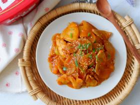 韩式萝卜鸡