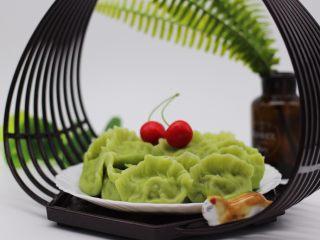 磷虾香椿翠玉饺子🥟【宝宝辅食】