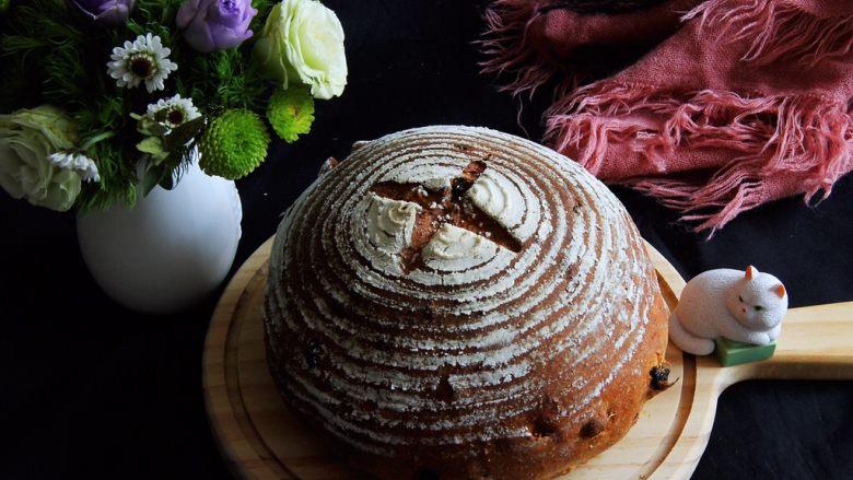 蔓越梅乡村面包