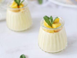 芒果奶冻,成品