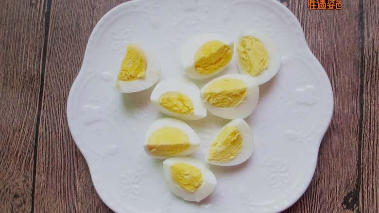 减脂蔬菜沙拉,鸡蛋切块
