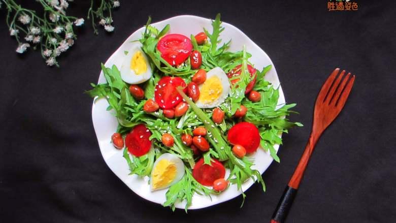 减脂蔬菜沙拉,低脂高蛋白的减肥餐~