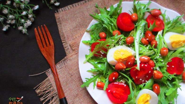 减脂蔬菜沙拉,大家试试看