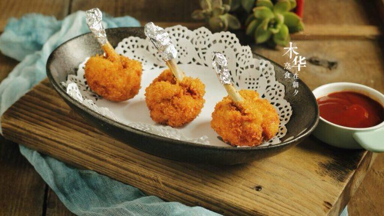 鸡翅根还能做出惊艳的宴客菜,最后根部包上锡纸。干净美观。
