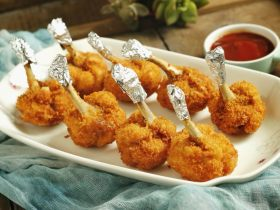 鸡翅根还能做出惊艳的宴客菜