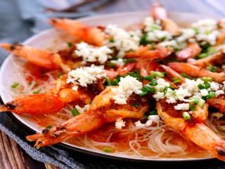 买菜做饭吃点啥,来份金银蒜开背虾,晚餐夜宵全搞定!