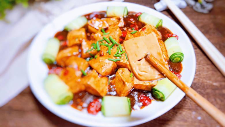 酸辣豆腐,即可食用