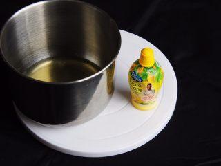 麦芽糖桂圆小蛋糕+无油版,蛋白中加入柠檬汁。