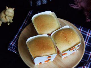 麦芽糖桂圆小蛋糕+无油版,完美的纸杯蛋糕就出炉啦。