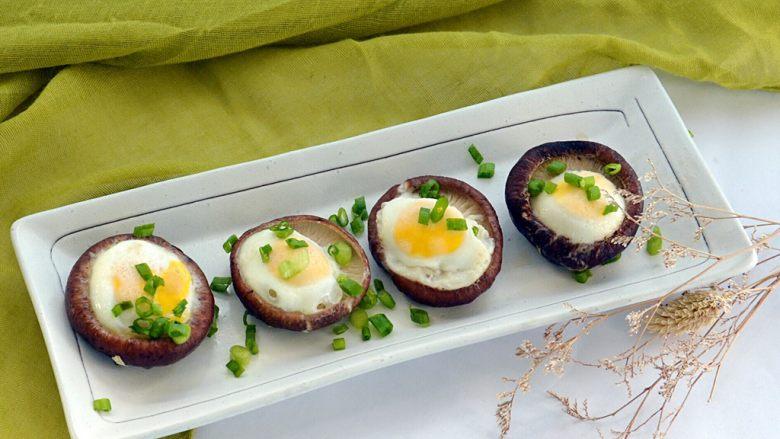 清蒸香菇鹌鹑蛋