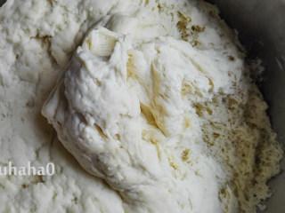 黑芝麻馒头卷,发酵到位的面团,拉开看都是蜂窝装