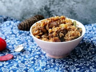 排骨土豆豆角焖饭,来一碗,香喷喷