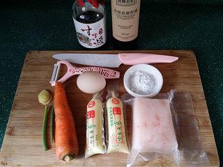 磷虾仁玉子豆腐#宝宝辅食#,备好所有食材