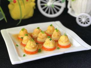 磷虾仁玉子豆腐#宝宝辅食#,最后再撒点葱花增色增香