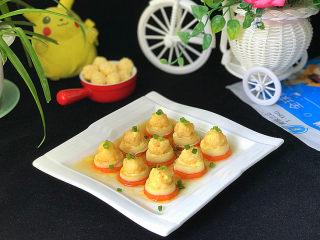 磷虾仁玉子豆腐#宝宝辅食#,颜色靓丽、鲜嫩美味,还很营养哟
