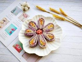 翻转花朵寿司