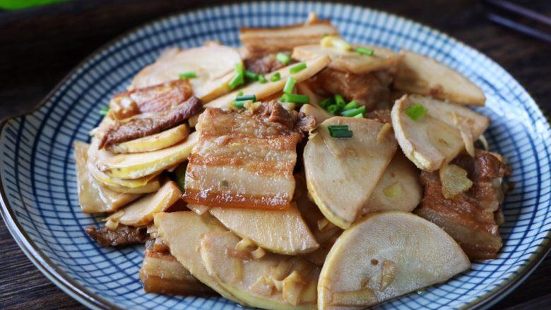 冬笋炒五花肉,美味营养!