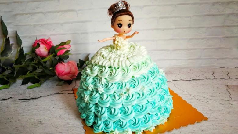 萌翻少女心-芭比蛋糕