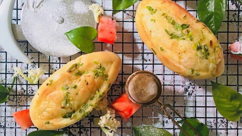 青葱软面包