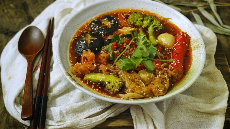 一个人在家也能做出好吃的冒菜