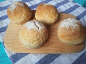 第一次做面包记