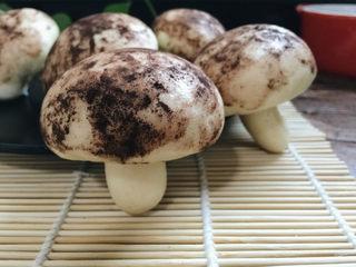 辅食计划+蘑菇豆沙包