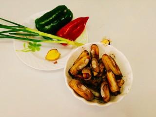 家常菜+爆炒蛏子,准备好食材