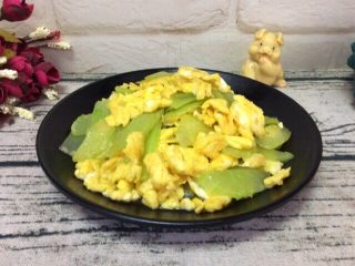 莴笋 炒鸡蛋