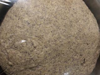 粗粮馒头,发至两倍大小发酵完成