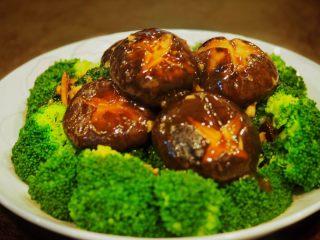 蚝油冬菇西兰花