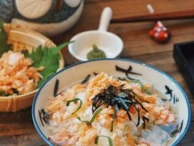 三文鱼泡饭