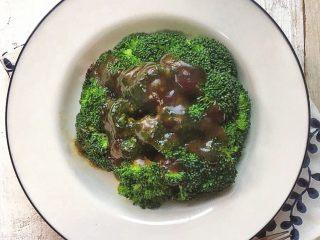 蚝油西兰花,清香适口。