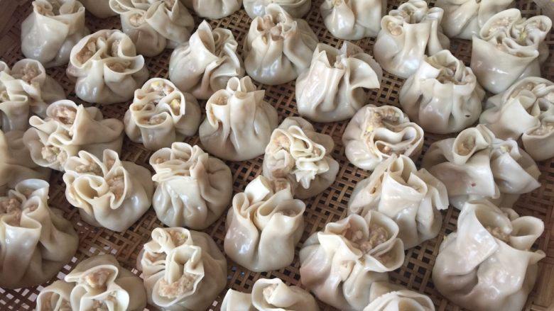 春笋鲜肉烧卖--上海特色,烧卖趁热吃最鲜美哦
