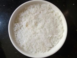 照烧鸡腿饭,准备一碗米饭
