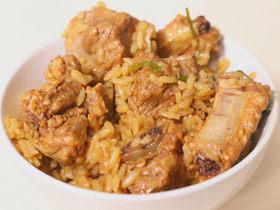 实打实的北方味道:电饭锅酱香排骨焖饭