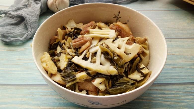 春笋酸菜炒五花肉&吃出春天的味道