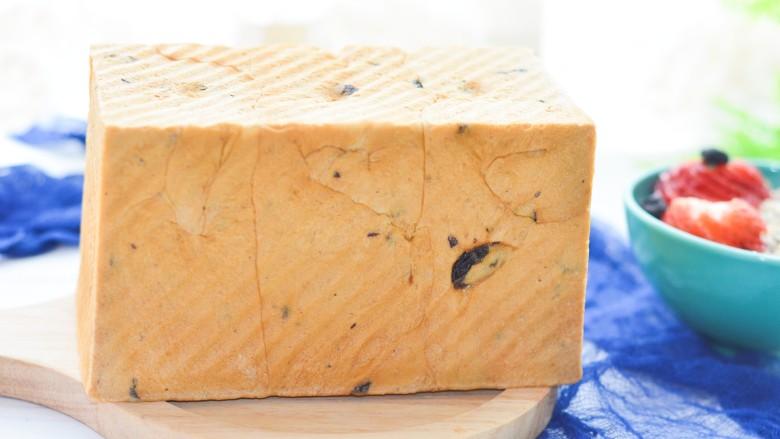 黑加仑红糖吐司(一次性发酵)