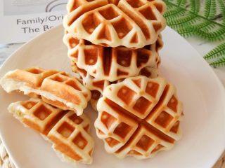 奶香华夫饼-快手早餐