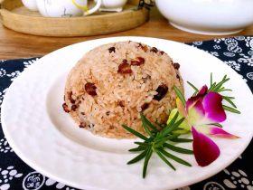 红豆糯米饭