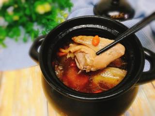 辅食计划+乳鸽红菇汤,成品图